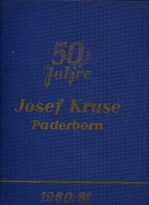 Josef Kruse Teile-Katalog 1960/61
