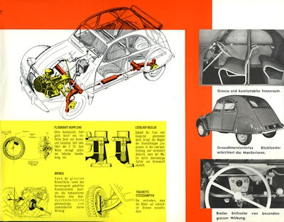 Citroen 2 CV Prospekt 1961 1