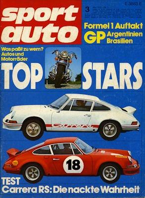 Sport Auto 1973 Heft 3