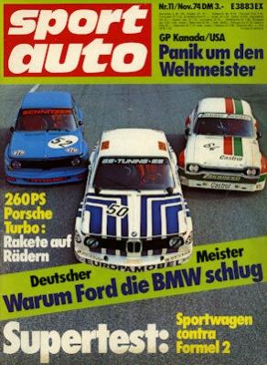 Sport Auto 1974 Heft 11