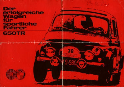 Steyr-Puch 650 TR 2 Prospekte ca. 1964