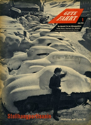 VW Gute Fahrt Heft 1 1955