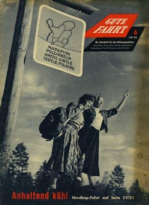 VW Gute Fahrt Heft 6 1955