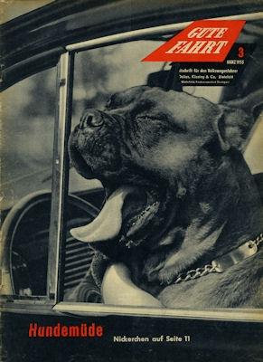 VW Gute Fahrt Heft 3 1955