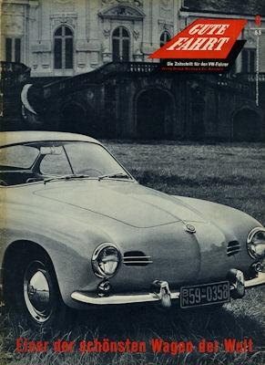 VW Gute Fahrt Heft 9 1955