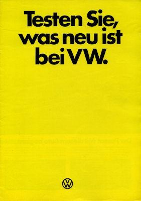 VW Programm 8.1973