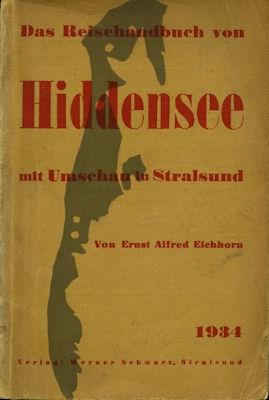 Das Reisehandbuch von Hiddensee 1934