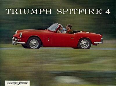 Triumph Spitefire 4 Prospekt 12.1963
