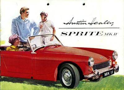 Austin Healey Sprite MK II Prospekt ca. 1961