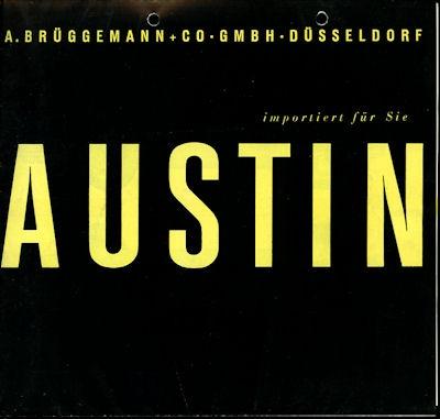 Austin Programm ca. 1960