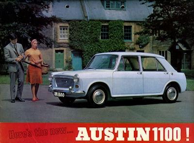 Austin 1100 Prospekt ca. 1961-68