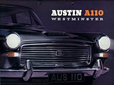 Austin A 110 Westminster Prospekt ca. 1965