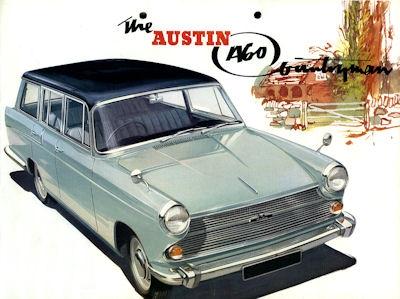 Austin A 60 Countryman Prospekt ca. 1965 e