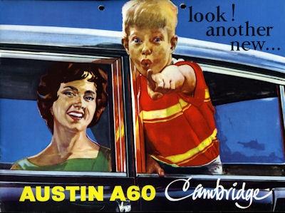 Austin A 60 Countryman Prospekt ca. 1964