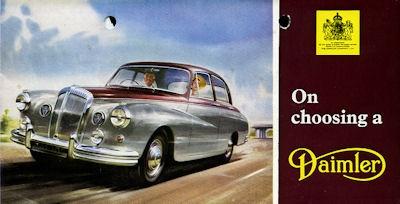 Daimler Programm ca. 1960