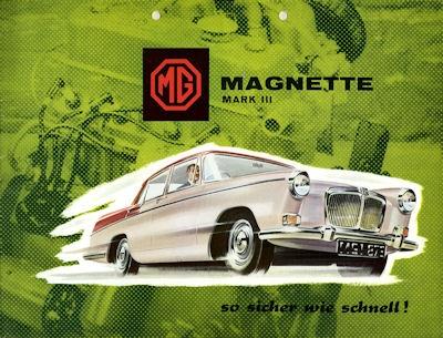 MG Magnette Mark III Prospekt 1959