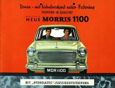 Morris 1100 Prospekt ca. 1965