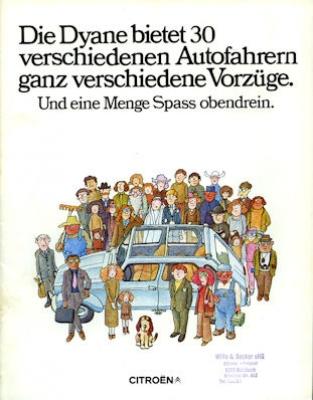 Citroen Dyane Prospekt 1971 0