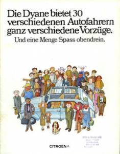 Citroen Dyane Prospekt 1971