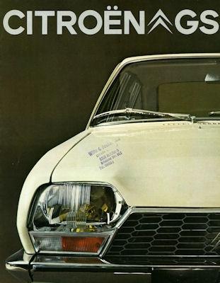 Citroen GS Prospekt 1971 0