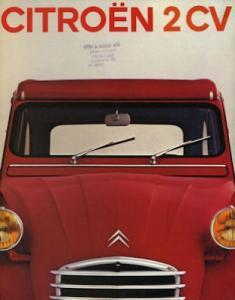 Citroen 2 CV Prospekt 1971