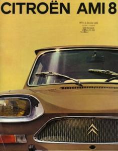 Citroen Ami 8 Prospekt 1971