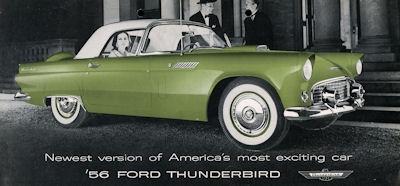 Ford Thunderbird Prospekt 1956 e
