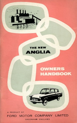 Ford Anglia Bedienungsanleitung 1960