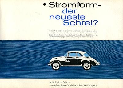 DKW 1000 Prospekt ca. 1959