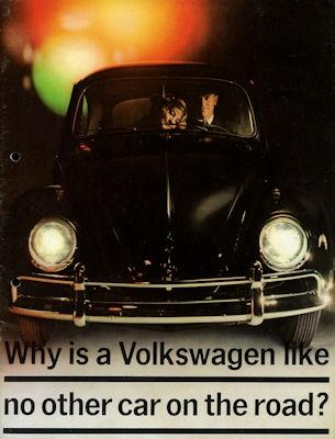 VW Käfer Prospekt ca. 1964 e