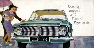 Ford GB Zephyr 6 Prospekt 6.1962