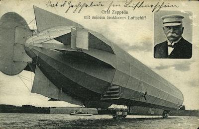 Ansichtskarte Zeppelin 1912