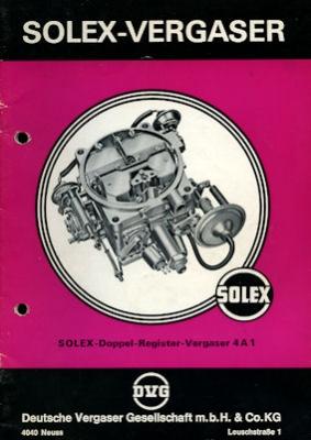 Solex Vergaser Type 4A1 2.1972