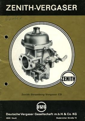 Zenith Vergaser Type CD ca. 1974 ?