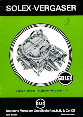 Solex Vergaser Type 4A1 5.1976