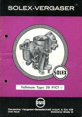 Solex Vergaser Type 28 PICT -1 1964