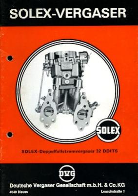 Solex Vergaser Type 32 DDITS 1973