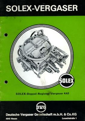 Solex Vergaser Type 4A1 8.1974