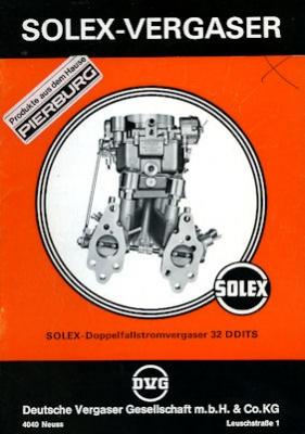 Solex Vergaser Type 32 DDITS 1976
