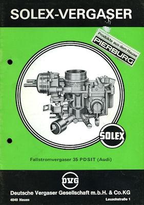 Solex Vergaser Type 35 PDSIT 9.1976