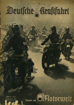 Deutsche Kraftfahrt 1940 April