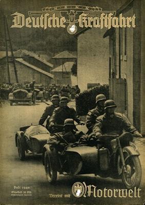 Deutsche Kraftfahrt 1940 Juli