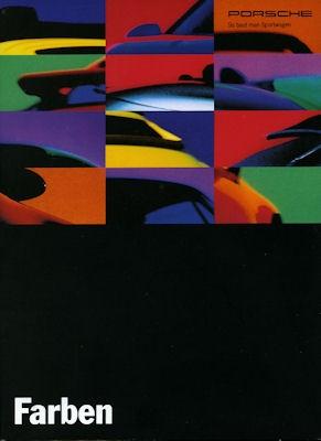 Porsche Farben 8.1993