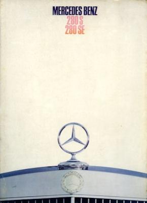 Mercedes-Benz 280 S SE Prospekt 12.1967
