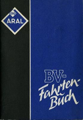 BV Fahrtenbuch 1950er Jahre