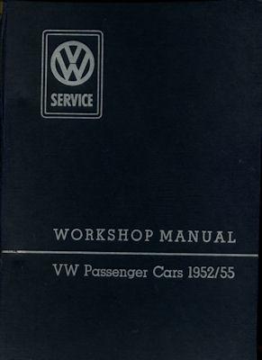 VW Käfer Reparaturanleitung 1955 e