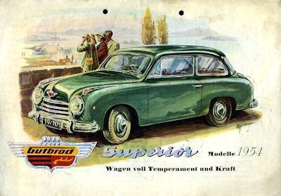 Gutbrod Superior Prospekt 1954
