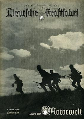 Deutsche Kraftfahrt 1940 Januar