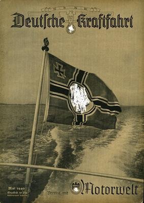 Deutsche Kraftfahrt 1940 Mai