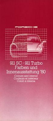 Porsche 911 Farben 1980